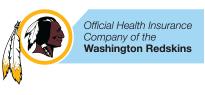 Compañía oficial de seguros de salud de los Washington Redskins